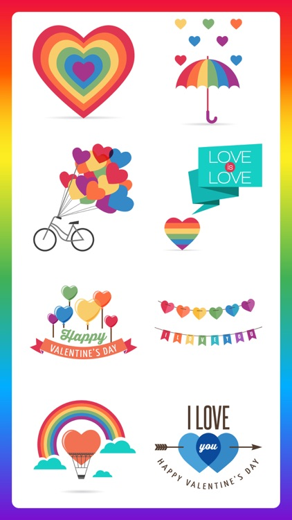 Gay LGBT Pride Month Stickers