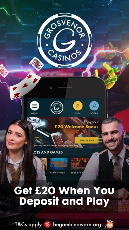 Grosvenor Casino App screenshot-0
