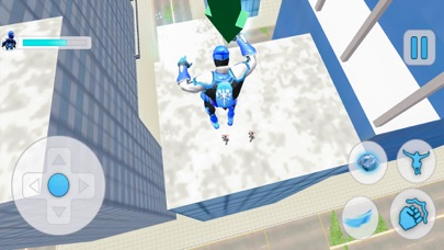Mad City Superhero: Snowman Screenshot