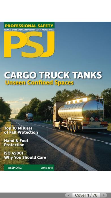 ASSP Professional Safety screenshot one