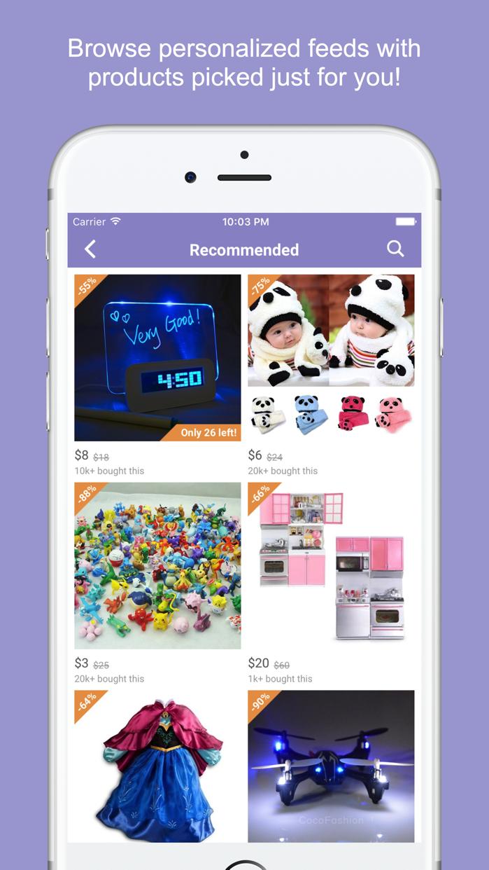 Mama - Thoughtful Shopping Screenshot