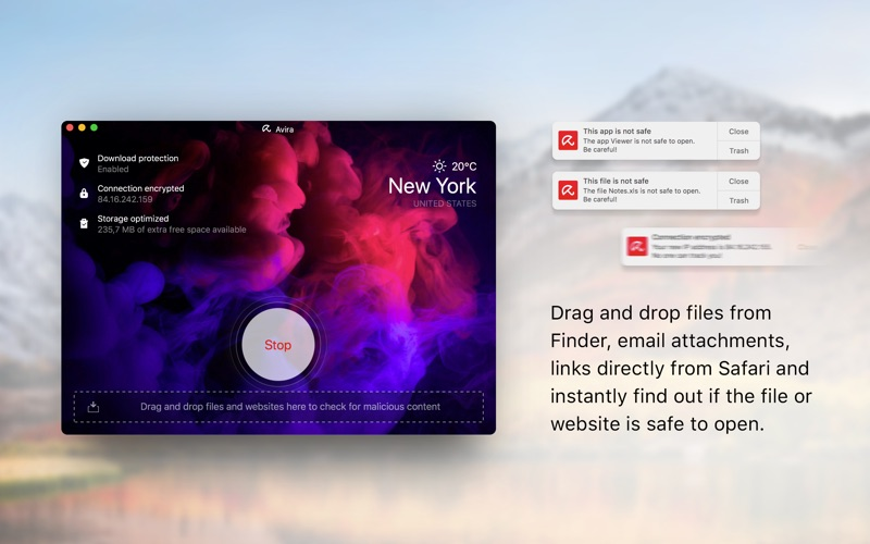 Avira Security Screenshot