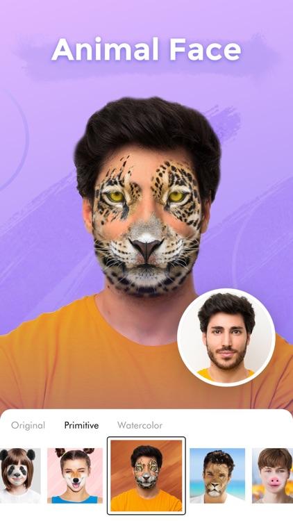 illus: Cartoon Face&Hair Salon screenshot-7