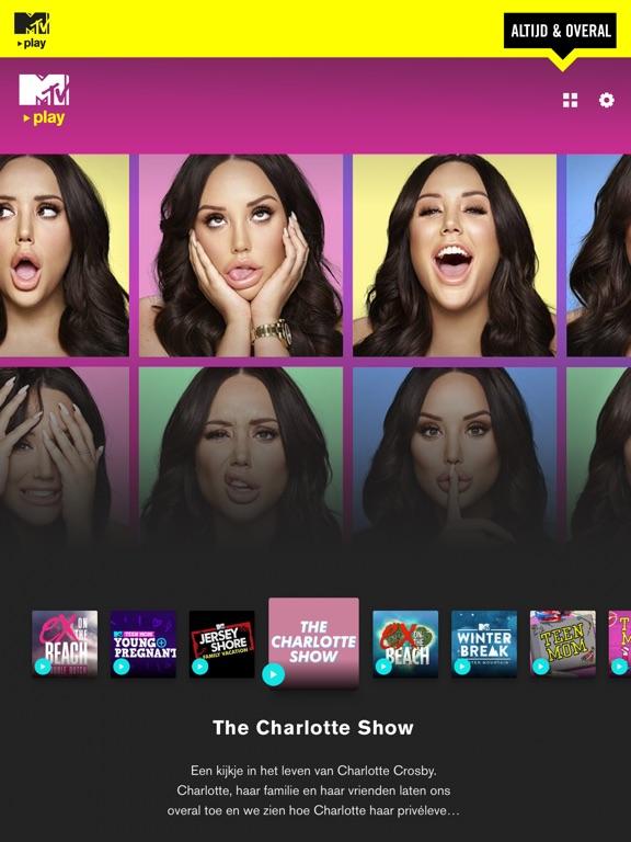 MTV Play - App voor iPhone, iPad en iPod touch - AppWereld