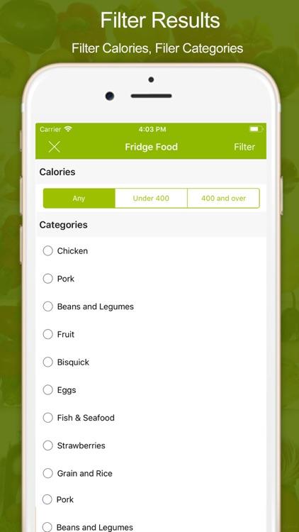 Fridge Food - Easy Cooking screenshot-3