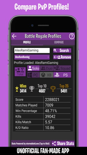 best matchmaking profile fortnite xbox