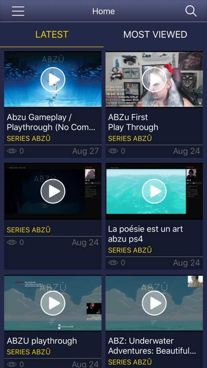 GameNet for - ABZU