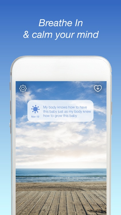 Breathe In Calm Meditation App screenshot-0