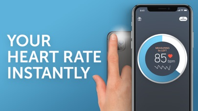 Instant Heart Rate - Heart Rate Monitor by Azumio for Free screenshot