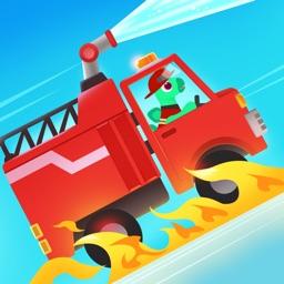 Dinosaur Firetruck: kids games