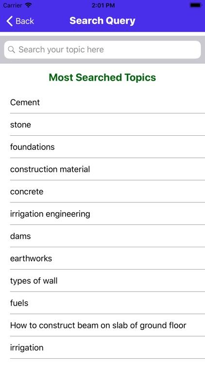 Basic Of Construction Material screenshot-4