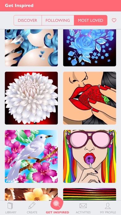 Colorfy: Coloring Book & Games Screenshots
