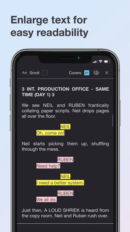 Scriptation: PDF for Film & TV screenshot-7