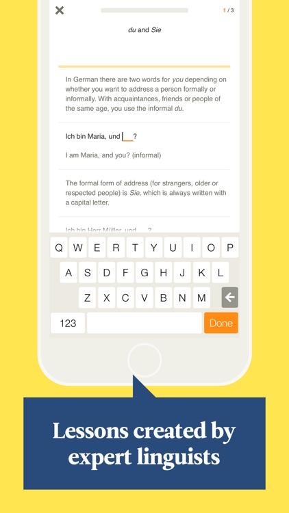 Babbel – Learn German screenshot-3