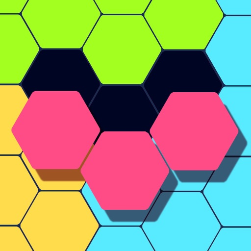 Hexagon Puzzledom Icon