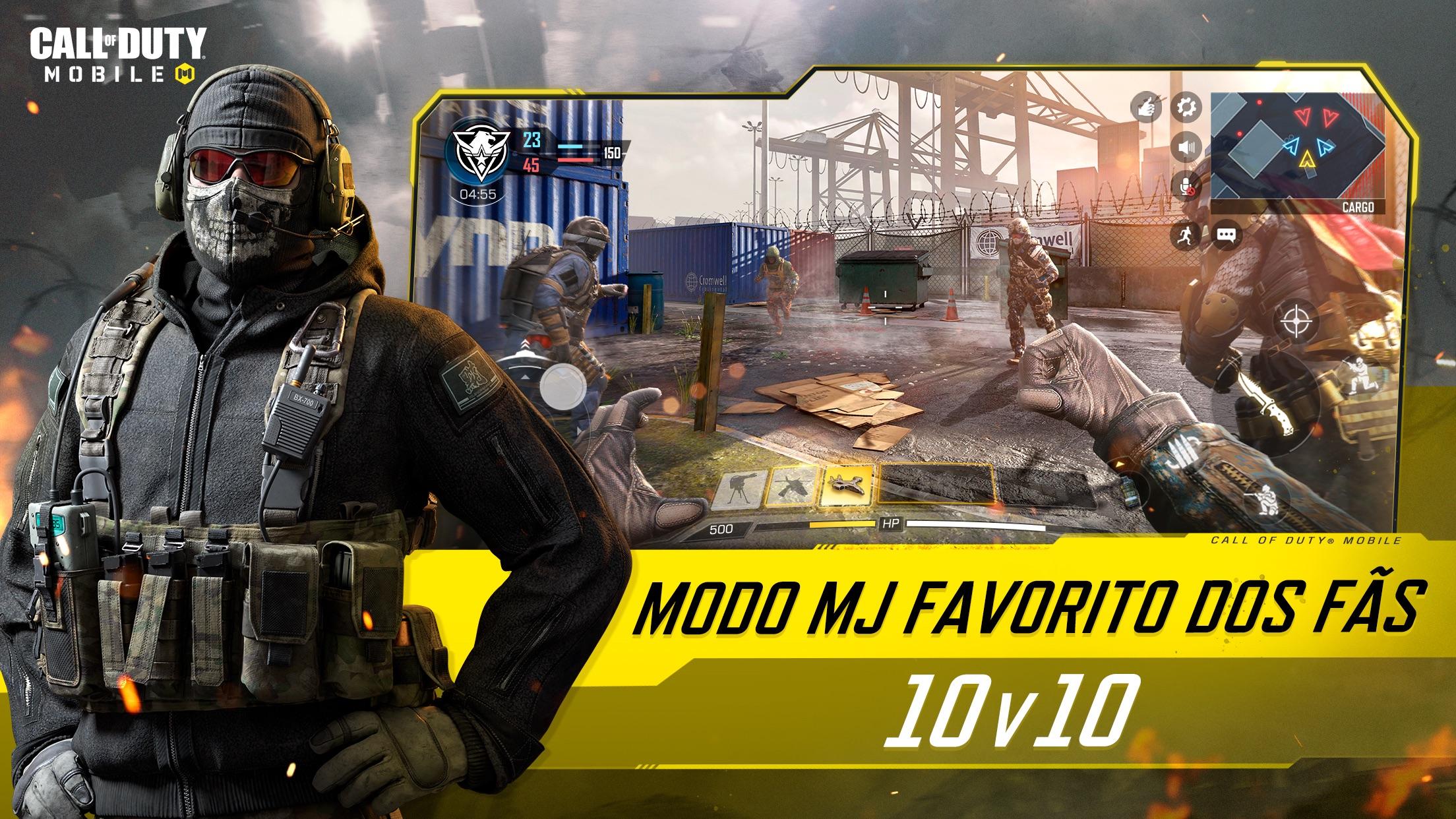 Screenshot do app Call of Duty®: Mobile