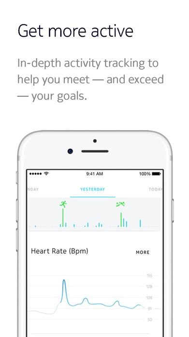 Withings Health Mate Screenshot