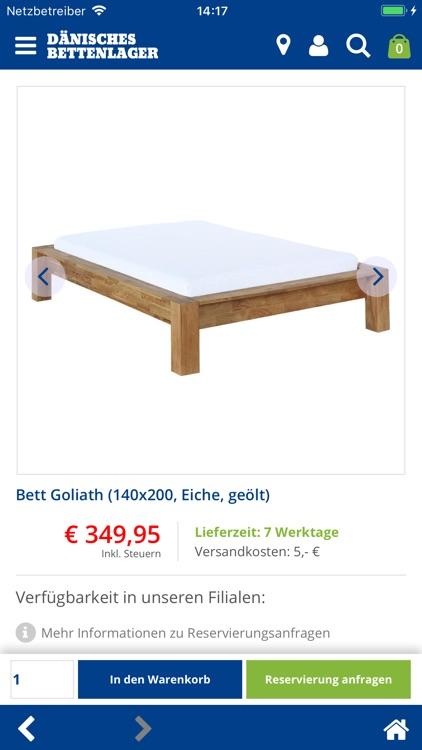 Dänisches Bettenlager.
