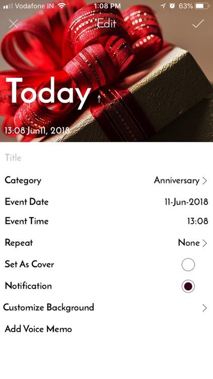 Remindo - Event Reminder screenshot-3