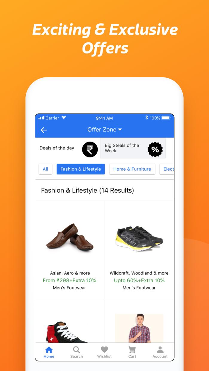 Flipkart - Online Shopping App Screenshot