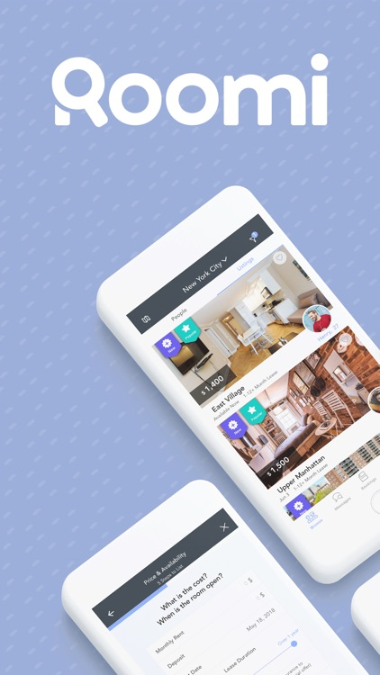 Roomi : Roommate & Room Finder