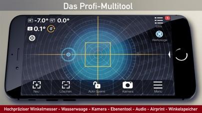 Winkelmesser, Wasserwaage AppScreenshot von 2