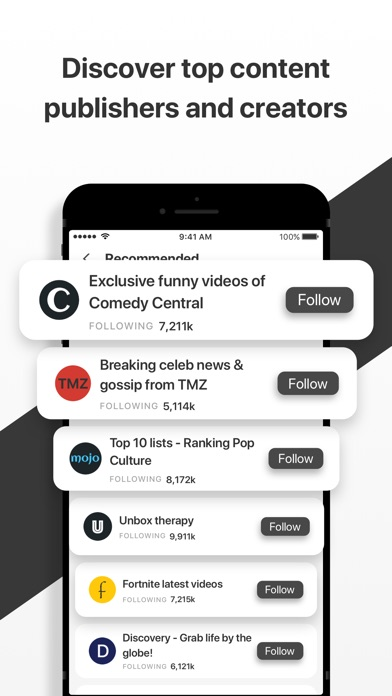 Fetchfeed - Top videos, memes Screenshot on iOS
