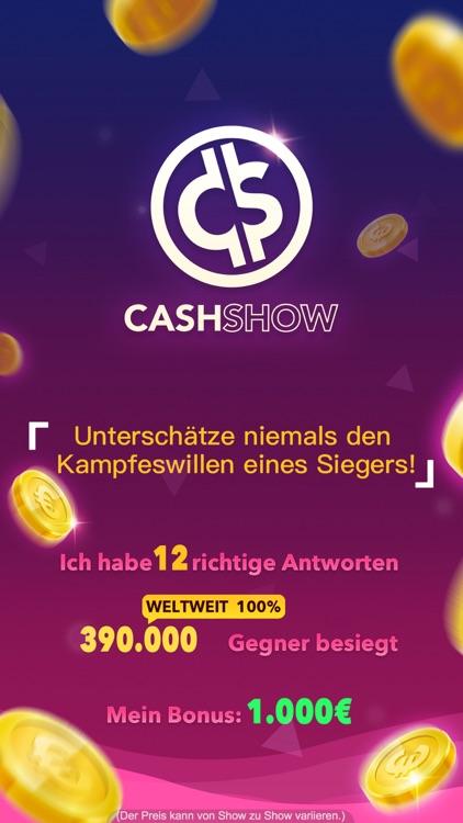 Cash Show - Gewinne Geld! screenshot-4