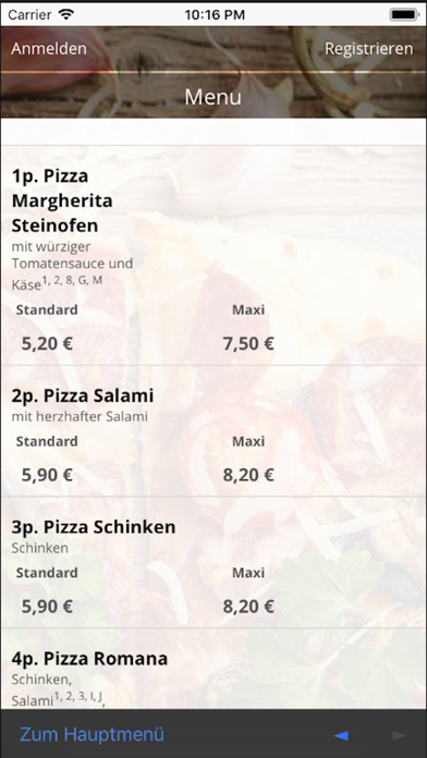 Pizza Pax BielefeldScreenshot von 4