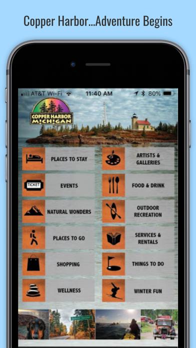 Copper Harbor Michigan Screenshot