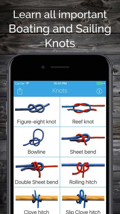 Knots: Boating and Sailing