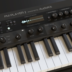 AudioKit FM Player 2: DX Synth