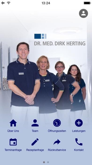 Praxis Dr. Herting screenshot one