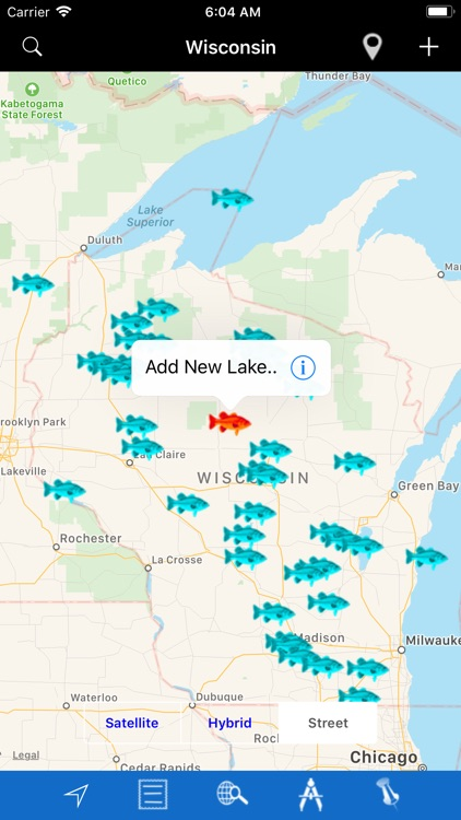 Wisconsin Lakes & Fishes screenshot-2