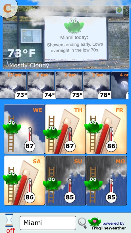 Weather Frog screenshot-1