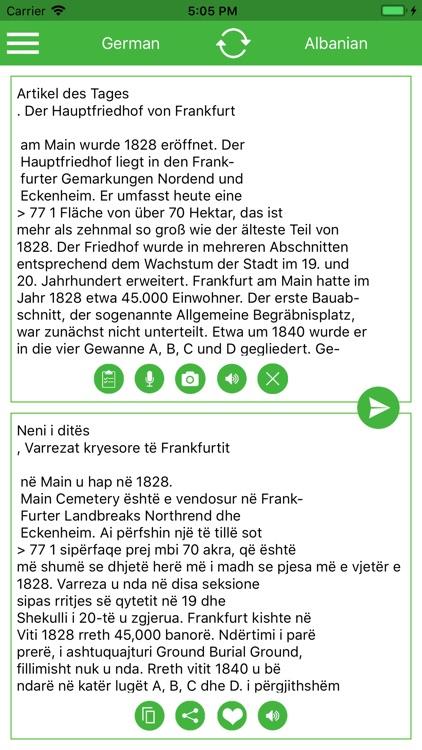 Albanian German Translator screenshot-9