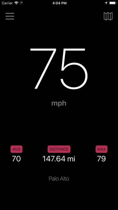 Speedometer - GPS Speed screenshot one