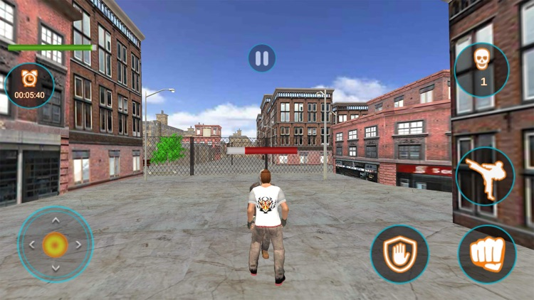 Angry Fighter Mafia Attack 3D