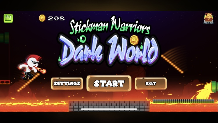 Stickman Warriors : Dark World