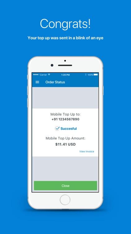 Topup.com - Easy mobile top up screenshot-4