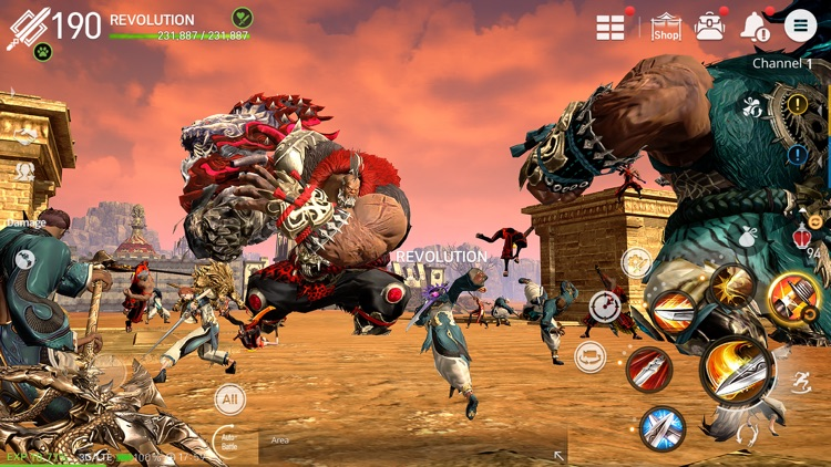 Blade&Soul: Revolution screenshot-5