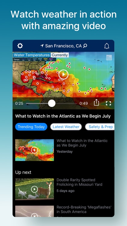Weather - The Weather Channel screenshot-6