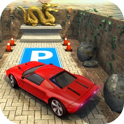 Maze Escape: Car Parking Lever icon