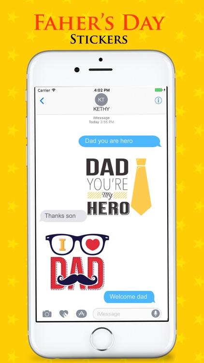 Father's Day Emojis screenshot-3