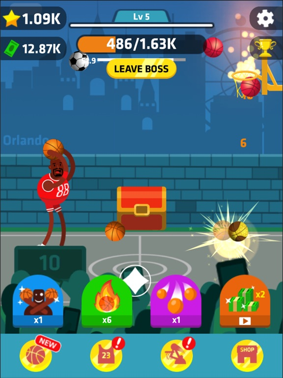 Idle Dunk Masters Скриншоты11