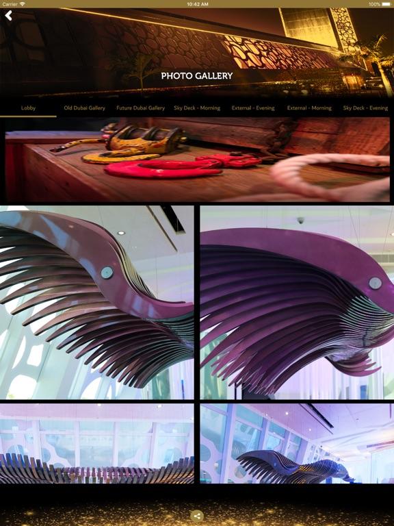 iPad Image of Dubai Frame