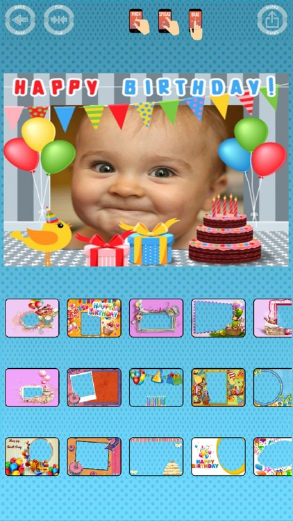 Happy birthday photos frames