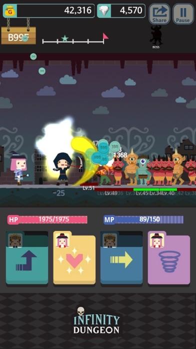 Infinity Dungeon! VIP Скриншоты4