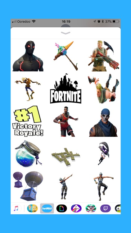 FortMOJI - Fortnite Stickers screenshot-1