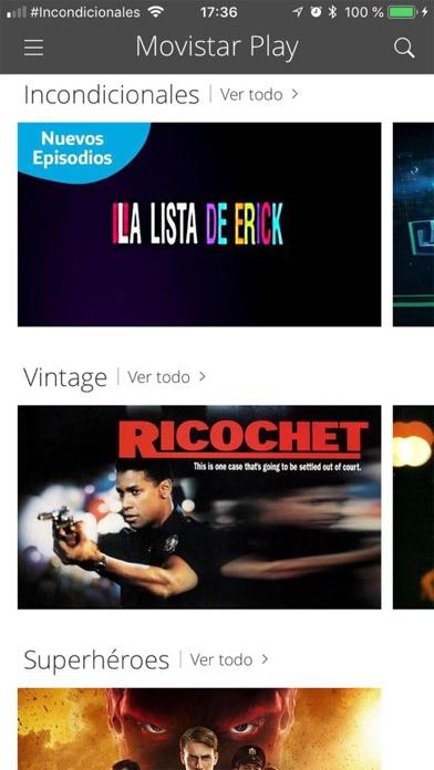 Screenshot for Movistar Play (Perú) in Peru App Store
